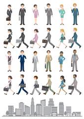 様々な人々のイラスト / ビジネス