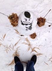 snowman explaining