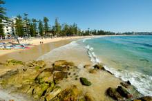 """Постер, картина, фотообои """"Manly Beach, Sydney, Australia"""""""