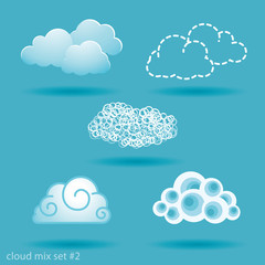 set of clouds. No.2