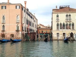 palacios en el gran canal Venecia