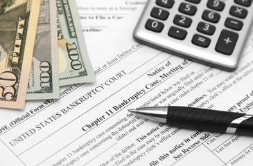 Bankcruptcy form