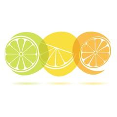 lemon, fresh orange