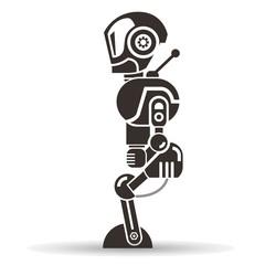 robot, cartoon robot