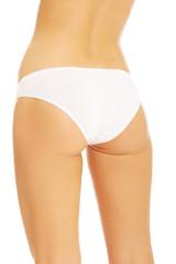 Woman's bum in white panties