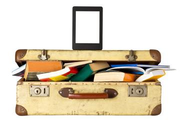 Urlaubslektüre - eBook vs Buch