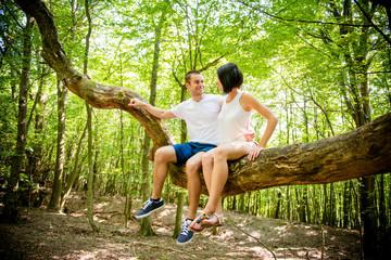 Love - date on tree