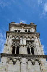 cathedral tower in trogir