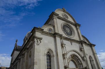 beautiful cathedral in sibenik