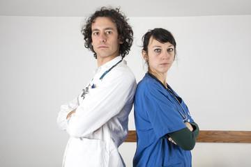 dottori in ospedale