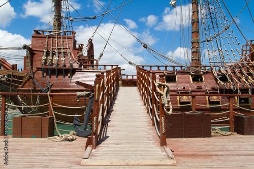 Leinwandbild Motiv Pirate Ship