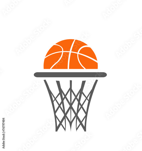 Basketball, vector - 76797484