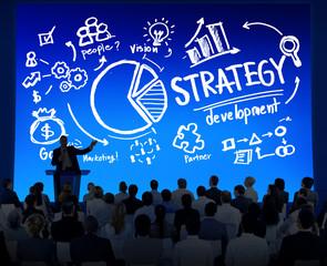 Strategy Development Marketing Planning Business Concept