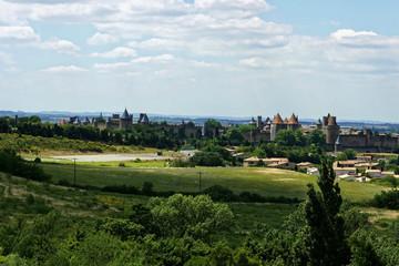 Paysage Carcassonne