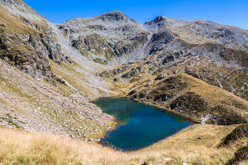 Lagh de Calvaresc - lake of heart