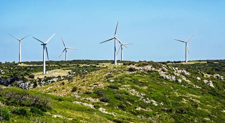 Parc à éoliennes