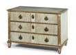 old antique French European painted chest of drawers