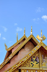 Roof architecture temple
