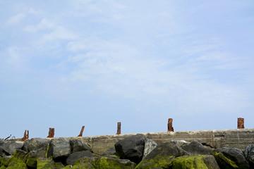 alte Mole, Düne Helgoland, Nordsee, Schleswig-Holstein