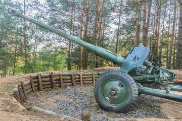 World War 2 obsolete gun in Belarus