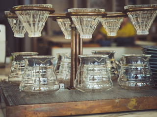 Drip Coffee,Glass Kits Vintage style