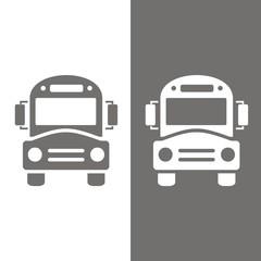 Icono bus escolar BN