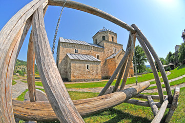 Studenica orthodox monastery in Serbia