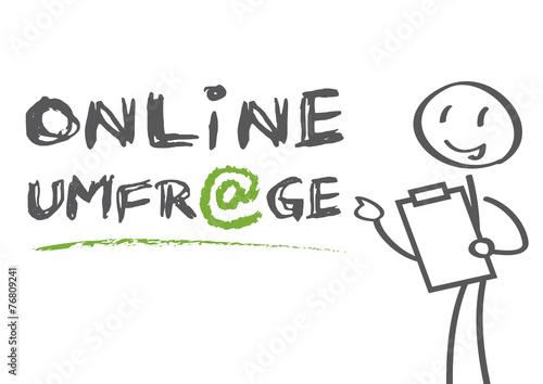 Online Umfrage - 76809241