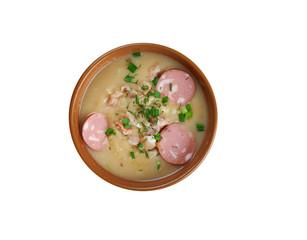 Saxonian potato soup