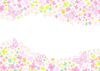 春 花 蝶