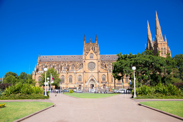 St.Mary's cathedral church in Sydney ,Australia