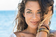Beautiful Woman At Beach - 76811469