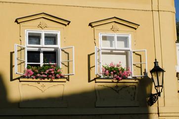 historical architecture in Prague