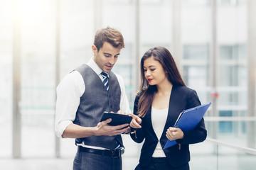 Business people meeting