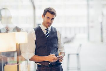 Portrait f businessman