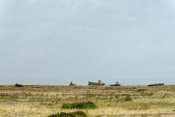 wrecks on seaside at Dungedness