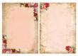 Obrazy na płótnie, fototapety, zdjęcia, fotoobrazy drukowane : Vintage backgrounds with roses