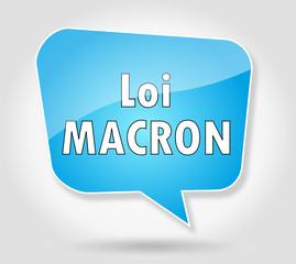 Bulle : Loi Macron