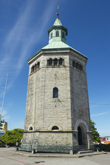 Exterior of the Valberg tower in Stavanger, Norway.
