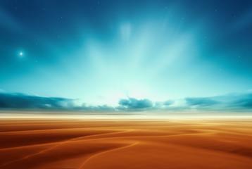 Dreamy fantasy alien mars desert like fantasy landscape