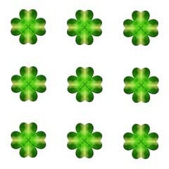 St. Patrick's Day Shamrock Background