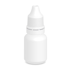 Illustration of Eye dropper bottle isolate on white background