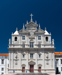 The New Cathedral of Coimbra in Portugal