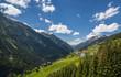 View of the Paznaun Valley in Tirol (Austria) - 76821680