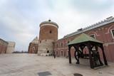 Lublin Castle courtyard, Poland