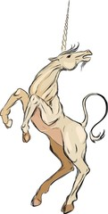 Sketch of unicorn