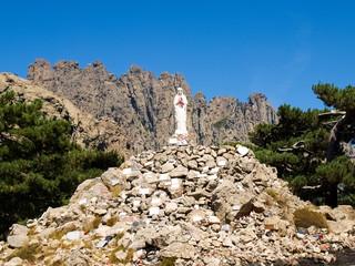 Madonna on Col of Bavella