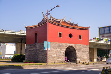 northern gate of the old taipei city