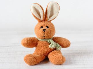 Old rabbit toy