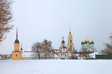 Россия. Коломна.  Свято-Троицкий Ново-Голутвин женский монастырь